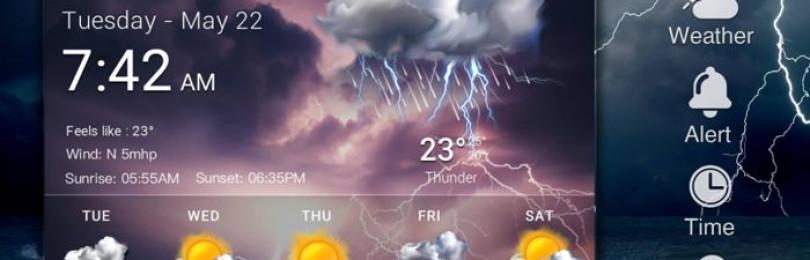 Как установить виджет погоды на телефон два быстрых метода
