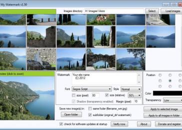 Какая лучше бесплатная программа для нанесения водяных знаков на фото и видео