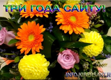 Три года сайту Блог Андрея Зимина
