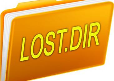 Lost.Dir что за папка на флешке как восстановить файлы и можно ли её удалить?