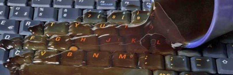 Залил клавиатуру не работают клавиши что делать и можно ли её починить?