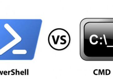 Как проводится замена командной строки на PowerShell?