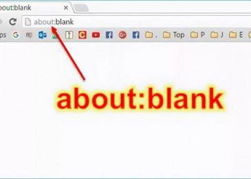 About blank blocked что это такое и как его удалить из браузера?