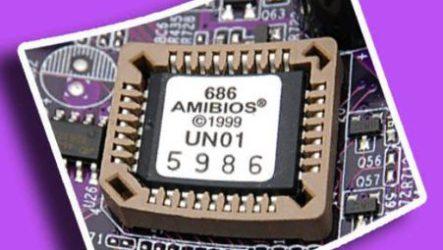 BIOS устройство постоянно запоминающееся устройство