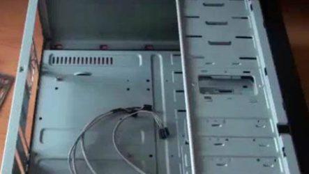 Сборка компьютера из комплектующих