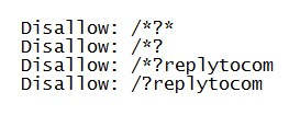 дубли страниц сайта replytocom запрет