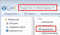 Прогрмм файлес Интернет Эксплорер