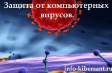 Защита от компьютерных вирусов меры профилактики
