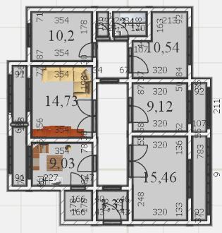 схема квартиры 2