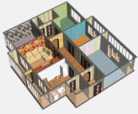 схема квартиры 3