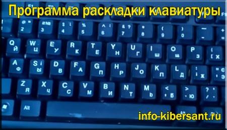 программа раскладки клавиатуры