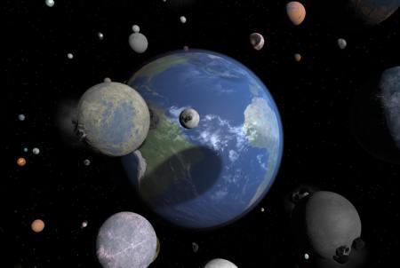 много планет