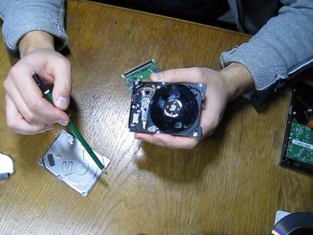 ремонт жесткого диска 1