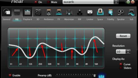Программа для Hear многократно улучшит качество звука ваших колонок