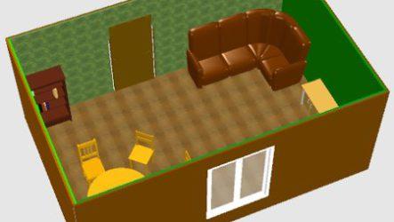Sweet Home 3D программа дизайна квартиры