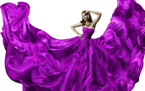 woman-purple-dress-silk (1)