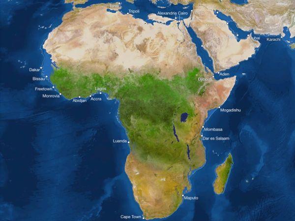 Как будут выглядеть континенты, если растают ледники?