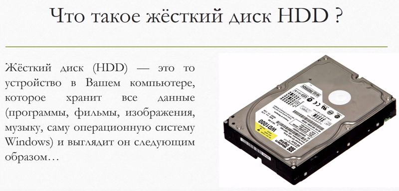 диск HDD