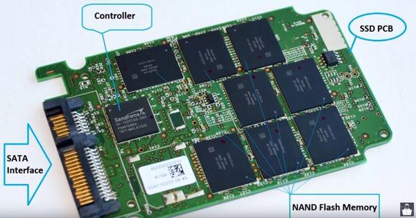 Вид диска SSD