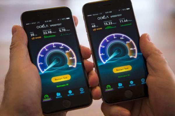 скорость LTE