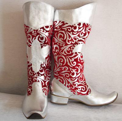 обувь деда мороза