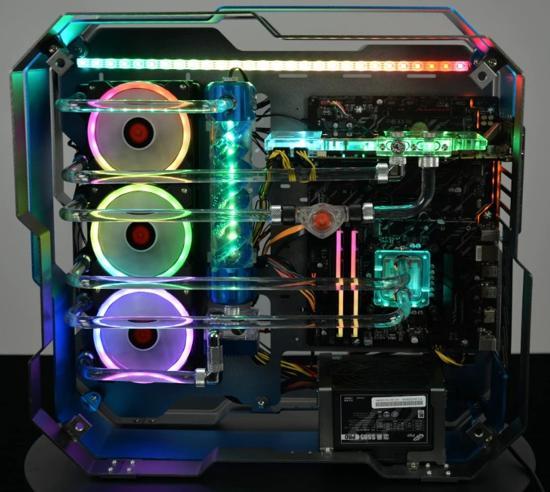 Компьютер на водяном охлаждении практический обзор