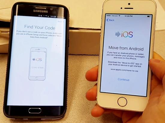 айфон и андроид