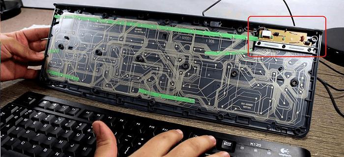 keyboard-plastic-plate