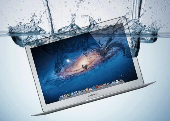 залил ноутбук водой что делать