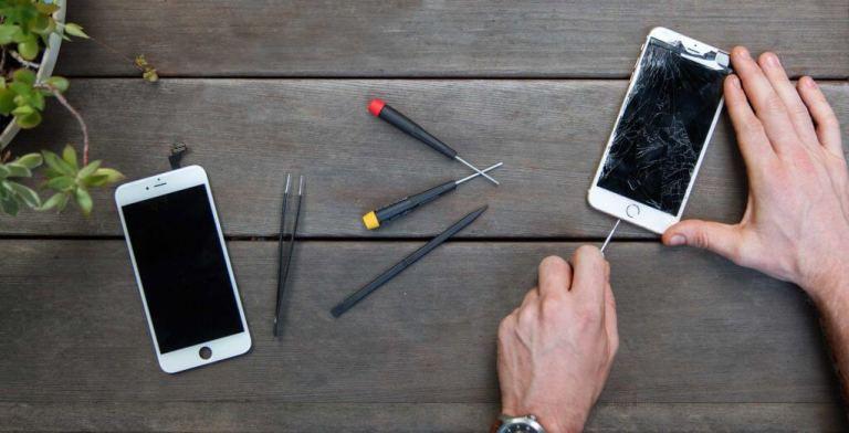 Инструменты для починке телефона