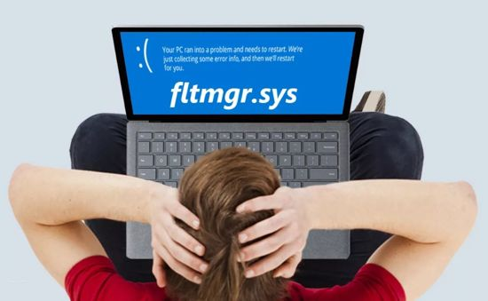Fltmgr sys синий экран windows 10