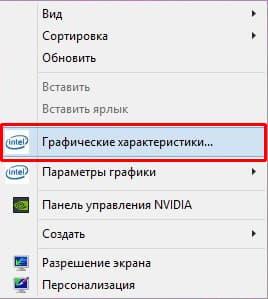 графицеские характеристики интел