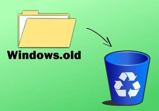 как удалить папку Windows.old на Windows 10