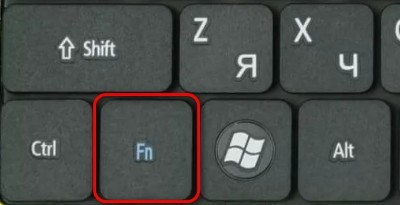 кнопочка Fn