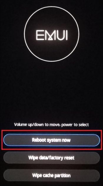 Reboot system now 12