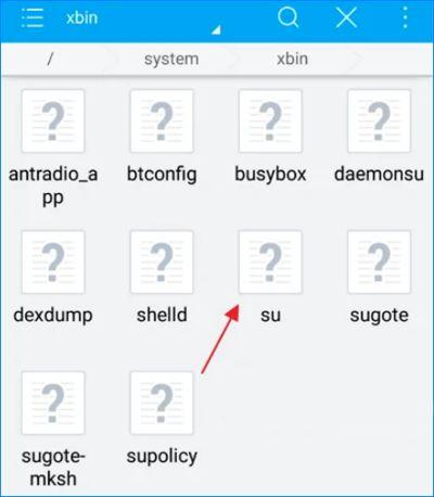 system – bin
