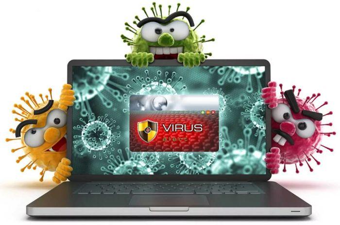 компьютер заражен вирусом