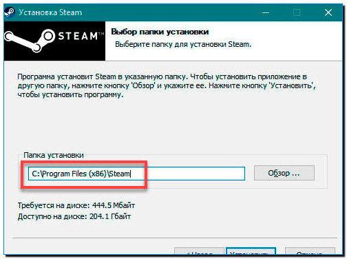 2 указываем название Steam