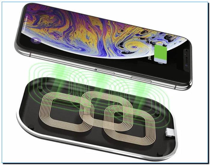 беспроводная зарядка айфон 11